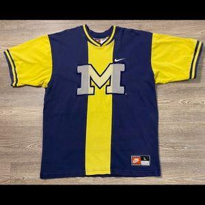 Vintage 90s Nike Michigan Team Sports Heavy Tee